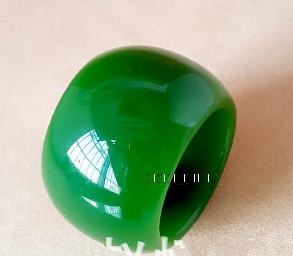 CHINA jades Traditional jade carving Jade Thumb ring