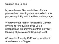German lessons