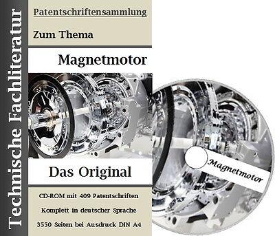 Magnetmotor, Permanentmagnet, Ratgeber-Technik, Selbstbau CD-Rom 2000 Seiten