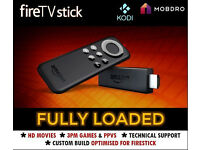 Amazon Fire TV Stick - Plug and Play! - Free Sport, Movies, Live TV + update app