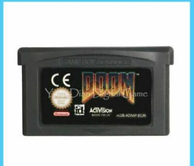 [ Doom 1 ] NINTENDO GAMEBOY Advance Classical Game GBA Best (Best Gameboy Classic Games)