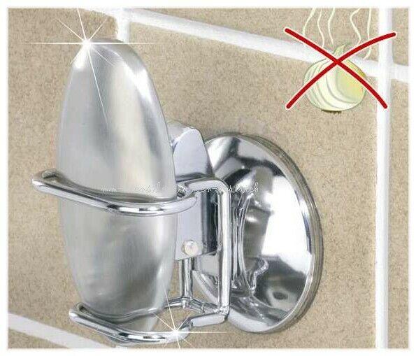 Edelstahl Seife Geruchskiller Stahlseife Reiniger mit Wandhalter ohne bohren