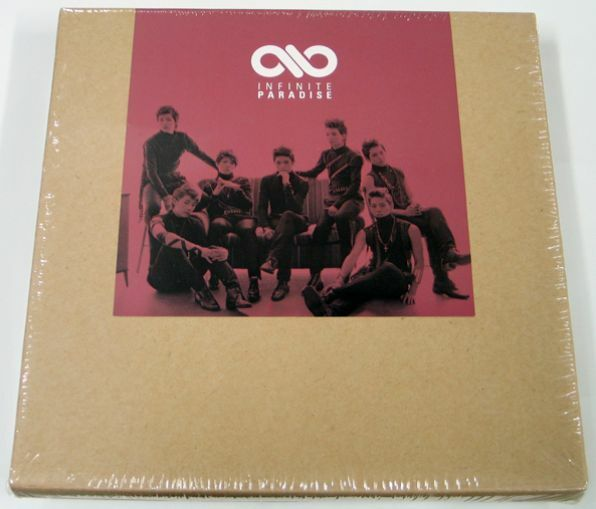 "INFINITE  ""PARADISE"" - 1st Special Repackage Album : CD+Poster+Photocard - Kpop"