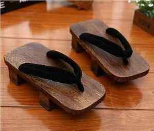 Japanese Wooden Sandals Ebay
