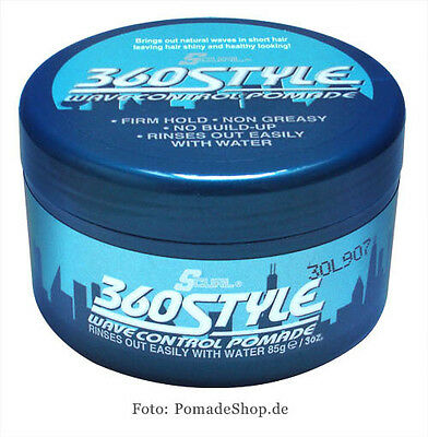 S-Curl 360 Style Wave Water based Pomade S-curl 360 Style Pomade