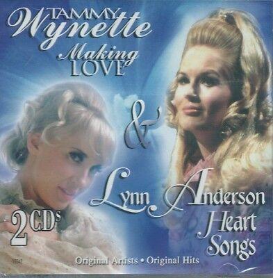 TAMMY WYNETTE - MAKING LOVE, LYNX ANDERSON - HEART SONGS -