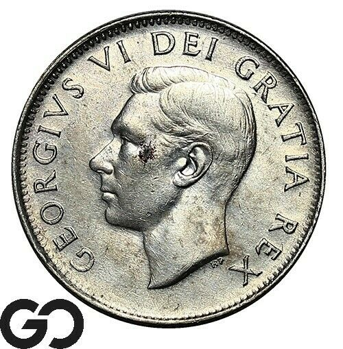 1952 Canada 25 Cents  - $4.90