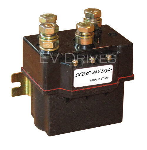 Albright DC88P Equivalent Reversing Contactor/Solenoid -  24V (Winch Contactor)