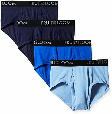 Fruit of the Loom Mens Underwear Breathable Brief Colors- Pick