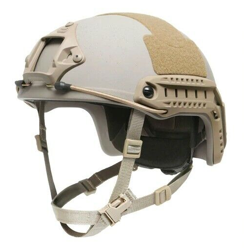 Ops-Core FAST High Cut Ballistic Helmet - S/M - Urban Tan
