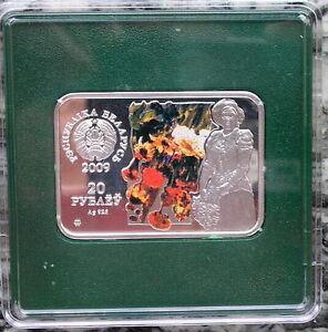 Belarus-2009-Artist-20-Roubles-Colour-Silver-Coin-Proof