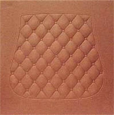"""18/"""" inch CHAIR SEAT Round Tufted Pattern square fiber replacement bottom quilt"""
