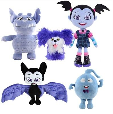 2019 Disney Jr TV Vampirina Best Collection Plush Dolls Ghost BatGirl Watch