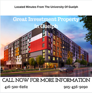 Great investment property near University of Guelph & ConestogaC