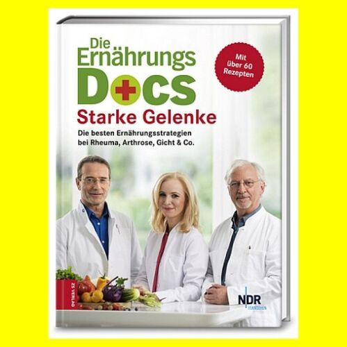 Die Ernährungs Docs Starke Gelenke ErnährungsDocs| 9783898838634 NEU