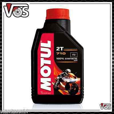 Olio Motore Moto Motul 710 6 litri 2 tempi 100% Sintetico Estere antifumo 6lt
