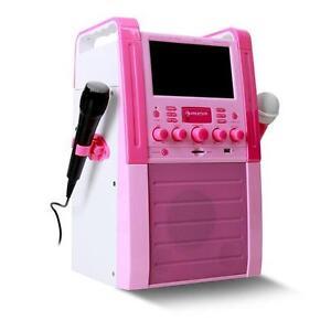 karaoke machine with words