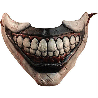 TWISTY THE CLOWN MOUTH COSTUME HALF MASK AMERICAN HORROR STORY HALLOWEEN SCARY ](Half Mask Halloween Costumes)