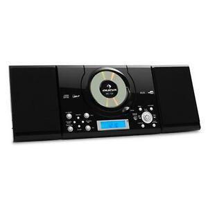 hi fi mp3 cd player usb audio fm am radio tuner dual alarm clock stereo system. Black Bedroom Furniture Sets. Home Design Ideas