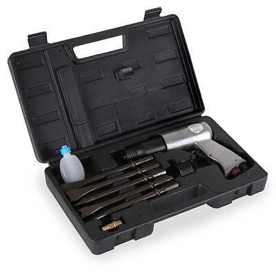 EBERTH 10-TLG Druckluft Meißel Hammer 175 mm Bohr Stemm SET für Kompressor