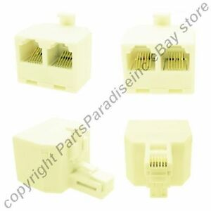 6wire-2way-Phone-Y-Splitter-Telephone-T-RJ12-6P6C-2-way