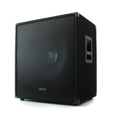 (RICONDIZIONATO) CASSA SUBWOOFER AUDIO PRO BASS BOX DJ PA 1000W 45CM 18