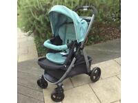 Grace sky *COMPLETE TRAVEL SYSTEM* Inc car seat and base