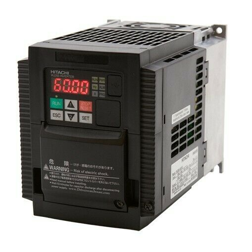 Used Hitachi WJ200-022SF: 3 HP (2.2 KW) Variable Frequency Motor Drive