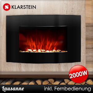 elektro heizung ofen kamin heizer radiator heizl fter wand led backlight feuer ebay. Black Bedroom Furniture Sets. Home Design Ideas