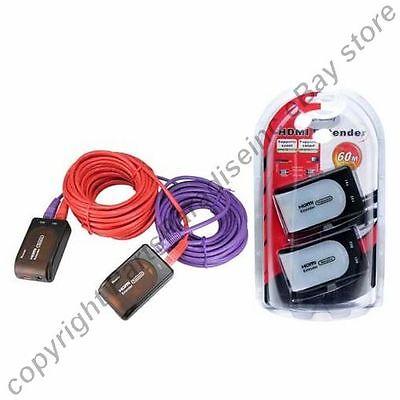 HDMI long extender cable/cord/wire HDTV/Plasma/TV/LED/LCD/DVR/DVD 1080p v1.3 (Plasma-tv-led)