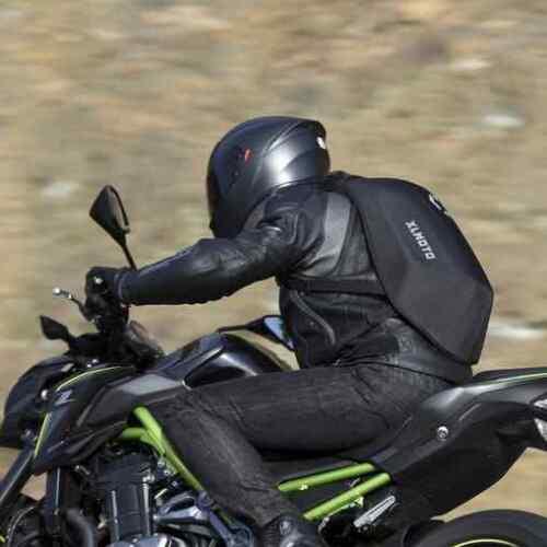 xlmoto Zaino Moto Slipstream Resistente allAcqua 24L Rosso