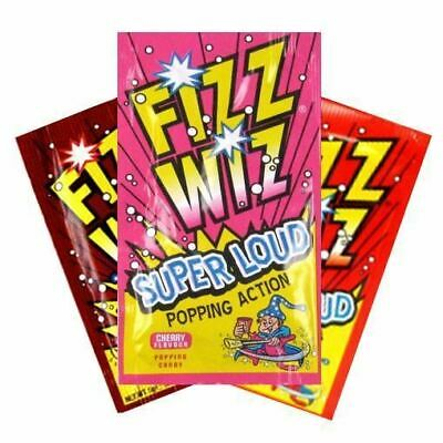 Fizz Wizz Popping Candy Strawberry Cherry Cola Kid Party Bag Filler Treat Sweets