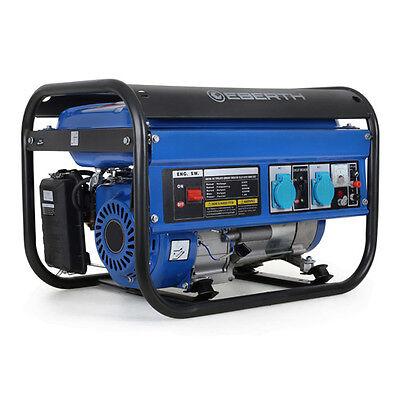 EBERTH 3000 Watt Stromerzeuger Notstromaggregat Stromaggregat Generator Benzin