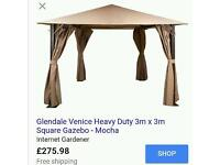3X3 HEAVY DUTY GAZEBO