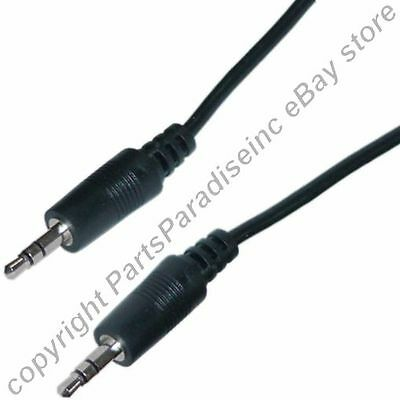 """Lot100 24""""/2ft short 3.5mm Stereo Male~M Audio/Headphone 1/8"""" patch Cable/Cord"""