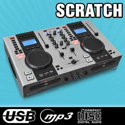 DJ CONTROLLER DOPPEL-CD-PLAYER USB/MP3 PITCH RELOOP CUE
