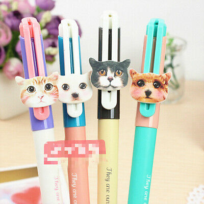 2 x Cute Cat Kitten Fine Point Pen Party Cute Kids Novelty Stationery Party Bag