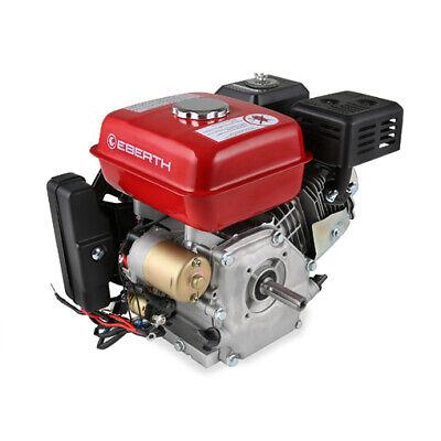 EBERTH 6,5 CV 4,8 kW Motor de gasolina benzina 4 ritmos 19,05mm...