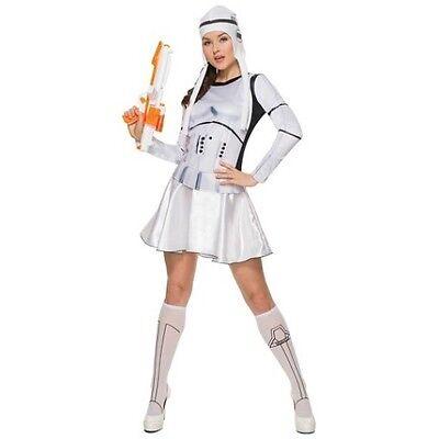 Star Wars Stormtrooper Women's Costume Sz M, L NWT - Woman Stormtrooper Costume