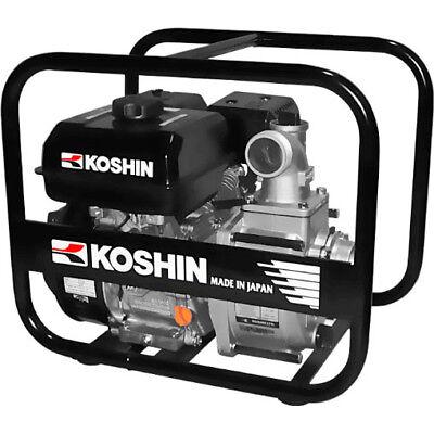 Koshin Sev-50x 2 Centrifugal Clear Water Pump 163 Gpm 4.7 Hp 179cc Engine