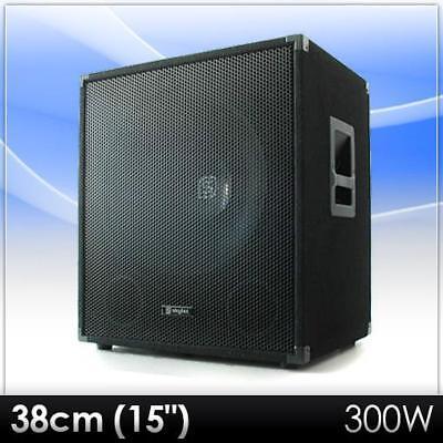 """[B-WARE] PROFI 38CM (15"""") DJ PA SUBWOOFER BASS LAUTSPRECHER BOX, gebraucht gebraucht kaufen  Berlin"""