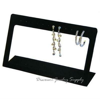 Open Frame 6 Pr Dangle Earring Display Stand - Black