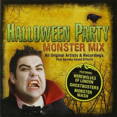 Halloween Party Monster Mix NEW CD Compilation