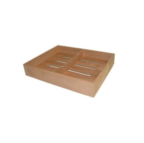 Spanish Cedar Cigar Tray w/ Divider For Humidor Storage Aroma for DIS5/7