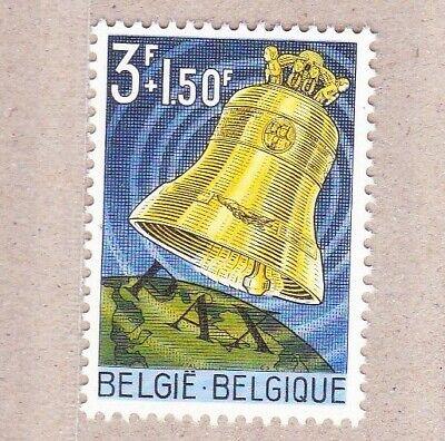 1963 nr 1241** zonder scharnier.Vredesklok,zegel blok 34.