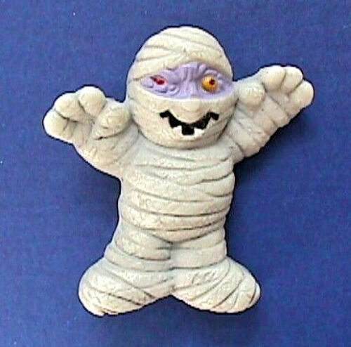 Russ PIN Halloween Vintage MUMMY Monster One Eye Holiday BROOCH STKR
