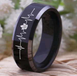 Toronto Maple Leafs Heartbeat Mens Ring