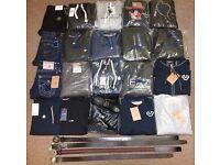 Wholesale/Joblot Men's Tracksuits, Jeans, Belts, Shoes - Ralph Lauren, True Religion, Stone Island