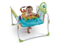Fisher Price First Step Jumperoo 2 in 1 Jumper and Walker