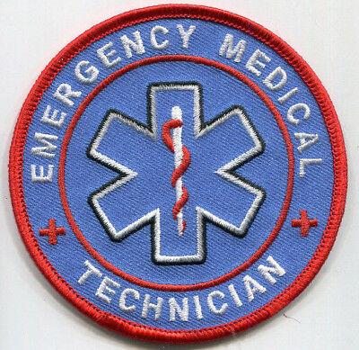 Emergency Medical Technician Patch /// EMT // Rescue // EMS // Vonunteer Fire